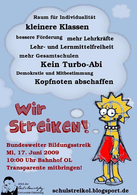 Schulstreik_Flyer